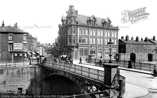 Bridgwater, The Bridge And Eastover 1902