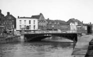 Bridgwater, The Bridge c.1955