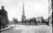 Bridgwater, The Church 1897