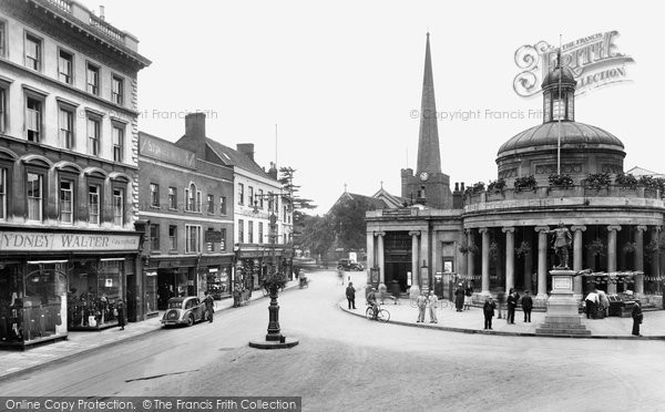 Bridgwater, The Cornhill 1936