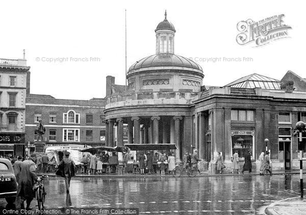 Bridgwater, The Cornhill c.1950