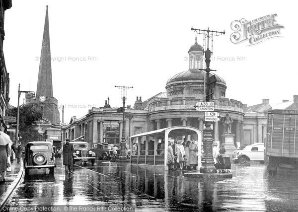 Bridgwater, The Cornhill c.1950