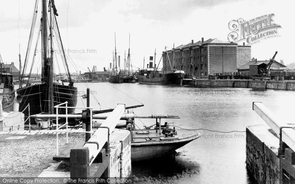 Bridgwater, The Docks 1927