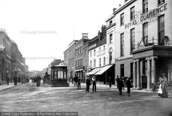 Bridgwater, The Royal Clarence Hotel 1890