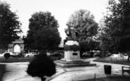 Bridgwater, The War Memorial c.1960