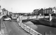 Bridgwater, Town Bridge c.1960