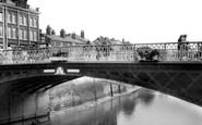 Bridgwater, West Quay Bridge c.1960