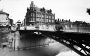 Bridgwater, West Quay Bridge c.1960