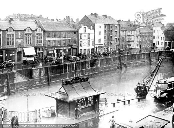 Bridgwater, West Quay c.1950