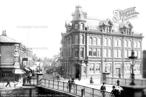 Bridgwater, Ymca And The Bridge 1890