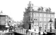 Bridgwater, Ymca And The Bridge 1890