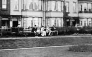 Bridlington, A Bench, Pembroke Gardens 1913