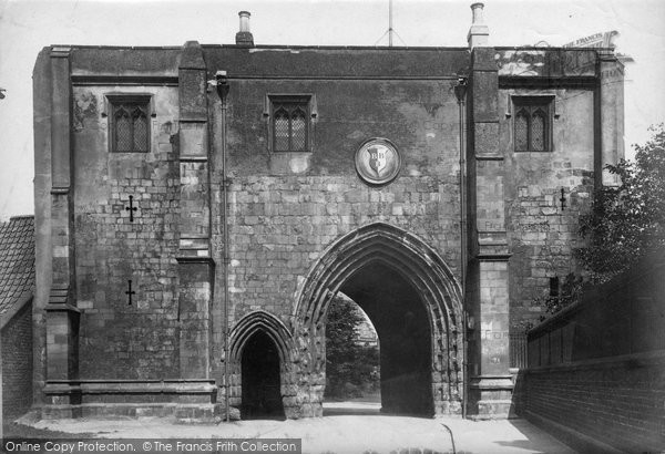 Bridlington, Bayle Gate 1903