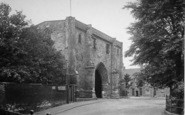Bridlington, Bayle Gate 1921
