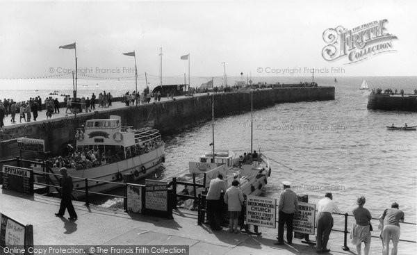 Bridlington, Bridlington Queen In The Harbour c.1960