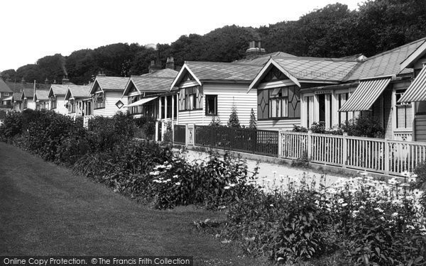 Bridlington, Cliff Bungalows At Sewerby 1932