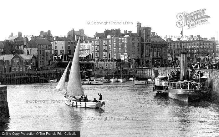 Bridlington, Harbour 1903