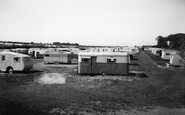 Bridlington, Marton Road Caravan Site c1955