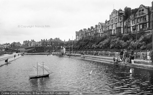 Bridlington, Model Boating Pond 1927