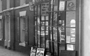 Bridlington, Newsagents, High Street 1954