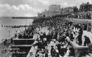 Bridlington, North Parade 1913