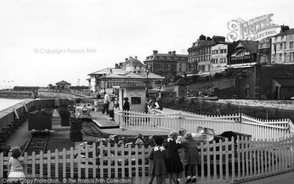 Bridlington, Peter Pan Railway 1954