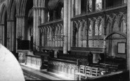 Bridlington, Priory Church, New Screen c.1885