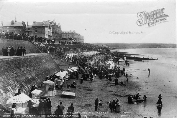 Bridlington, Quay Children's Corner 1897