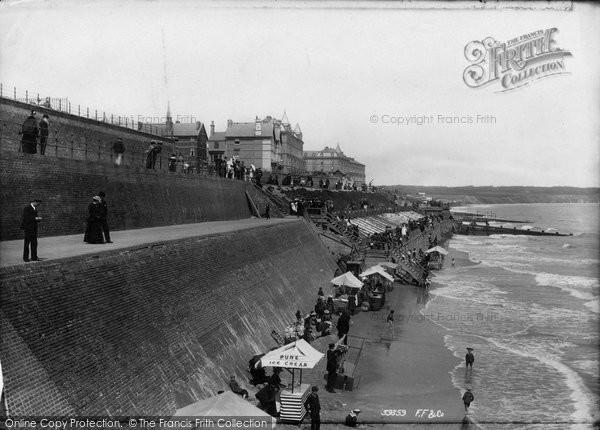 Bridlington, Quay Childrens Corner 1897