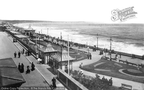 Bridlington, Quay, Parade 1897