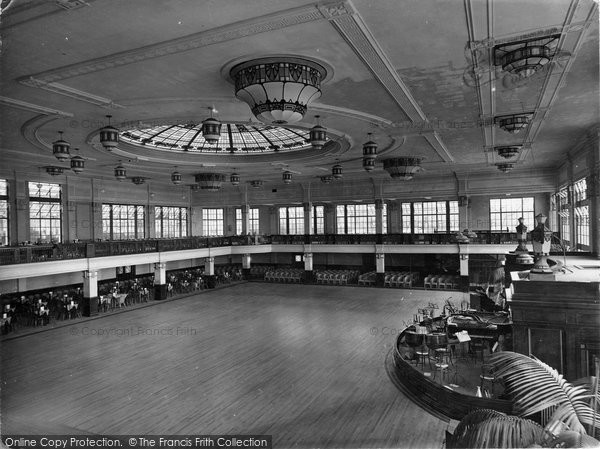 Bridlington, Royal Hall Interior 1927