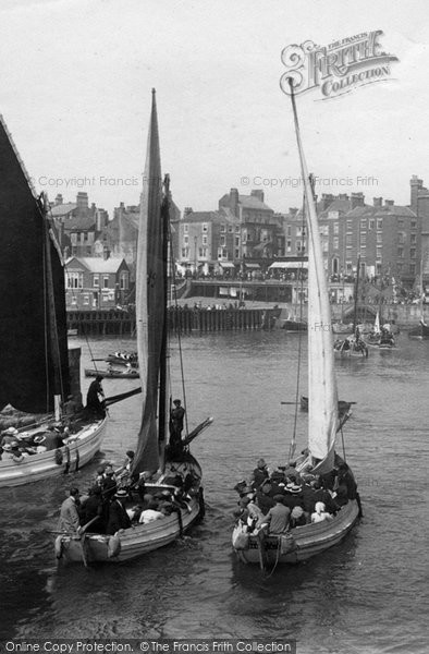 Bridlington, Sailing Boats 1913