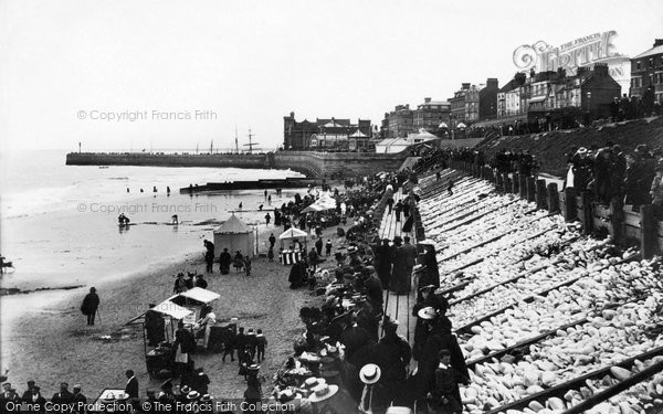 Bridlington, Sands 1897