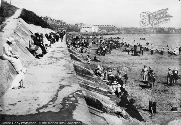 Bridlington, Sands 1913
