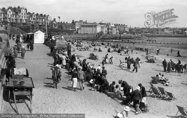 Bridlington, Sands And Spa c.1933