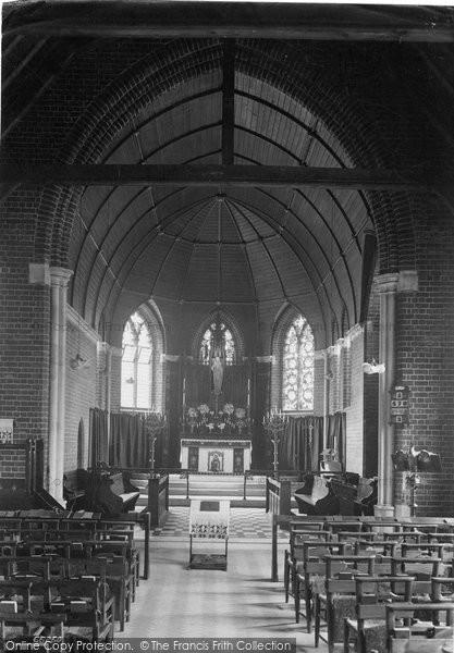 Bridlington, St Anne's Convalescent Home Chapel 1913