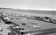 Bridlington, The Boating Pool c.1960