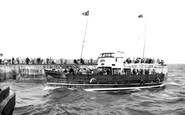 Bridlington, the Bridlington Queen 1955