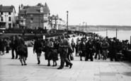 Bridlington, The Esplanade 1954
