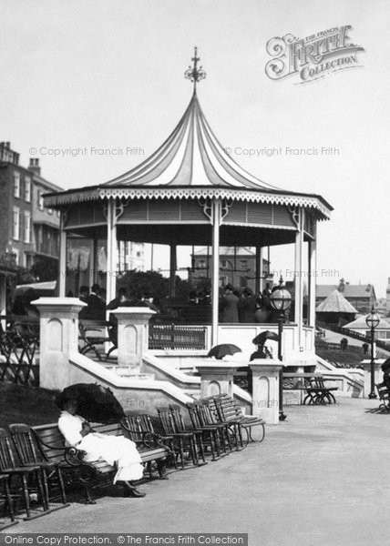 Bridlington, The Esplanade Bandstand 1886