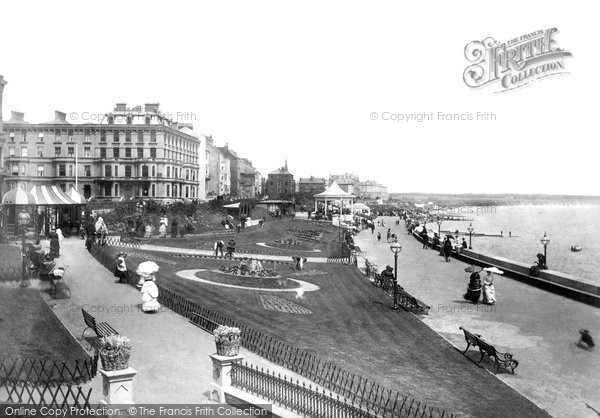 Bridlington, The Esplanade c.1885