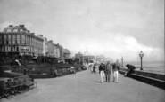 Bridlington, The Esplanade c.1885
