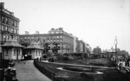Bridlington, The Esplanade Gardens 1893
