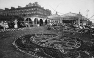 Bridlington, The Floral Clock 1923