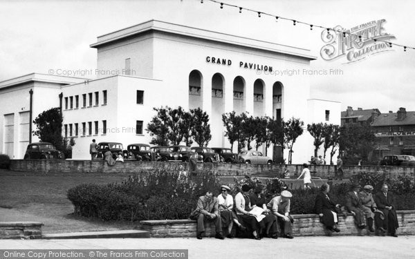 Bridlington, The Grand Pavilion 1954