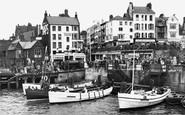 Bridlington, The Harbour 1954