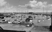 Bridlington, The Harbour 1955