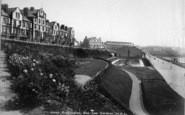 Bridlington, The New Spa Gardens 1903