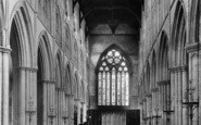 Bridlington, The Priory Church Interior 1897