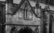 Bridlington, The Priory Church, North Porch c.1885